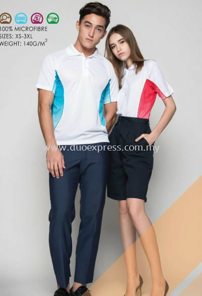 Polo T Shirt MicroFibre- Ready Made QD-31