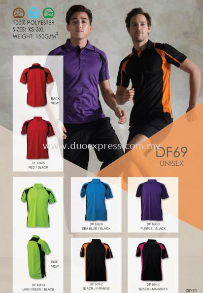 Polo T Shirt MicroFibre- Ready Made DF-69