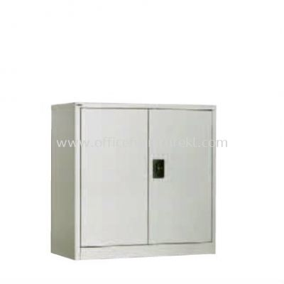 HALF HIGH CUPBOARD WITH STEEL SWING DOOR