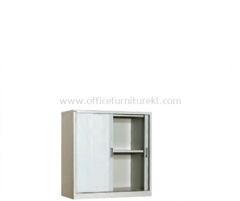 HALF HIGH ROLLER SHUTTER CUPBOARD WITH 1 ADJUSTABLE SHELF