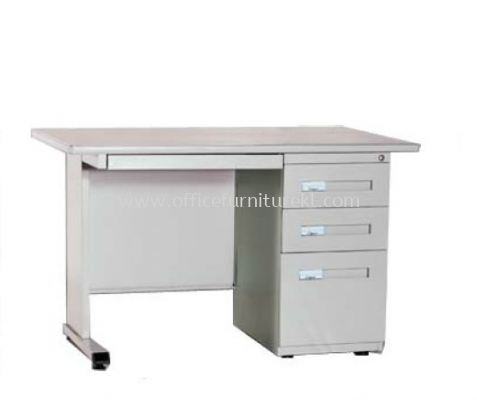 MODERN SINGLE PEDESTAL DESK