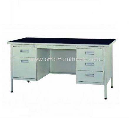 STANDARD DOUBLE PEDESTAL DESK