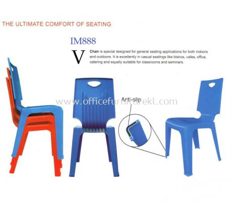 V CHAIR BACK