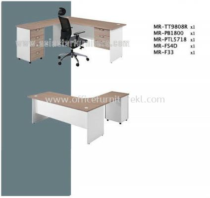 MR L-SHAPE TABLE SET D