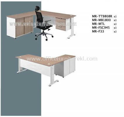 MR L-SHAPE TABLE SET A