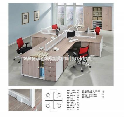 MR 35mm Desking Panel Set B