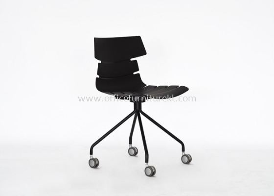 AS SC-606-1 PP CHAIR WITH CHROME LEG