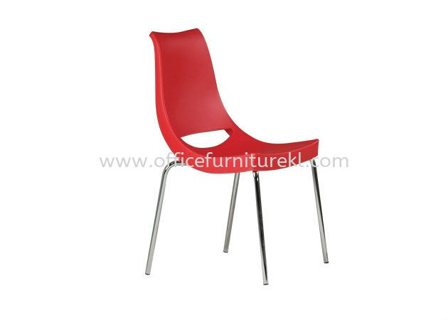 AS HH 30 PP CHAIR WITH CHROME LEG