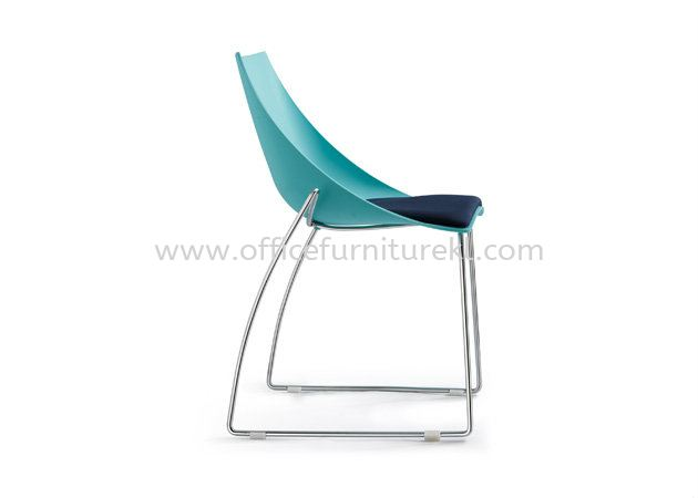 AS SC-235 PP CHAIR WITH CHROME LEG(WITHOUT CUSHION)