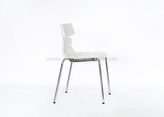 AS SC-603 PP CHAIR WITH CHROME LEG