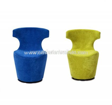 AS G117 FABRIC SWIVEL CHAIR WITH CHROME BASE