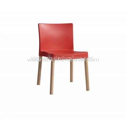 AS HH 19E PP SEAT WITH BEECH WOOD LEG