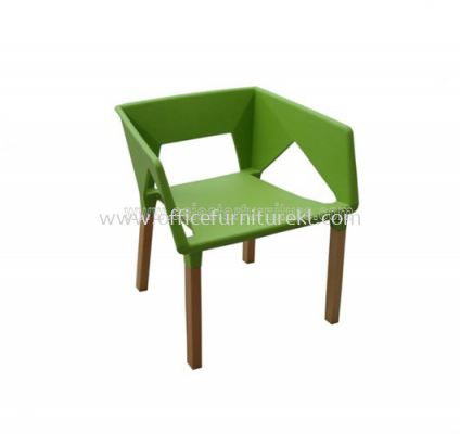 AS HH 816 PP SEAT WITH WOODEN BEECH LEG