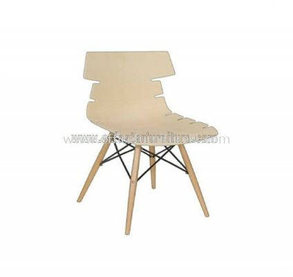 AS SC-030 PP CHAIR WITH BEECHWOOD LEG