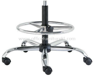 IMPROVE SPECIFICATION - STEEL CHROME BASE WITH ADJUSTABLE FOOTREST GUARANTEED FOR DURABILITY AND STRENGTH