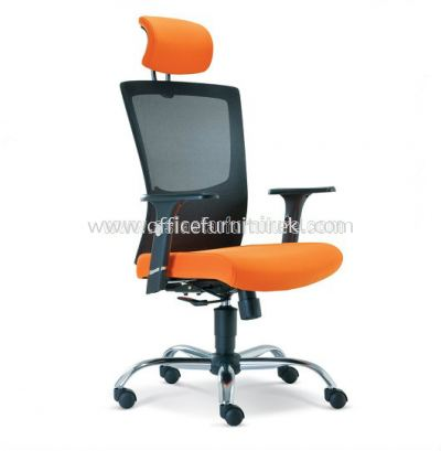 VICTORY MESH HIGH BACK CHAIR WITH CHROME BASE ASE2681