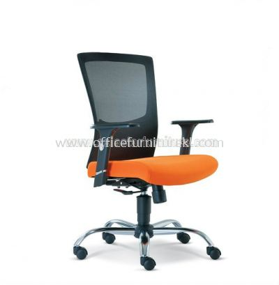 VICTORY MESH LOW BACK CHAIR WITH CHROME BASE ASE2682