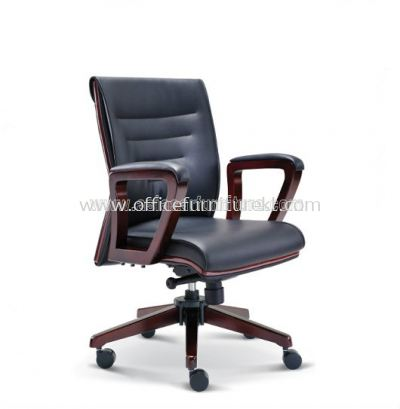 CHARACTER WOODEN LOW BACK CHAIR ASE2314