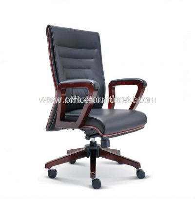 CHARACTER WOODEN MEDIUM BACK CHAIR ASE2313