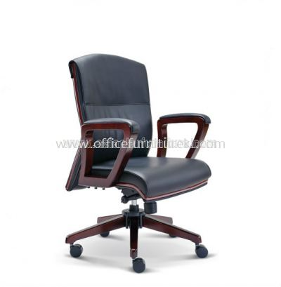 ELITE WOODEN LOW BACK CHAIR ASE2373