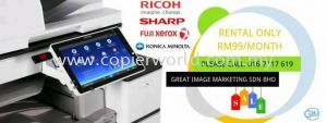 We are running promotion for Year 2020 Rental Only RM99.  No Deposit required. Call us for more details #OfficeEquipment #photocopier  #Ricoh #Sharp #KonicaMinolta #Fujixerox #RentalOnlyRM99