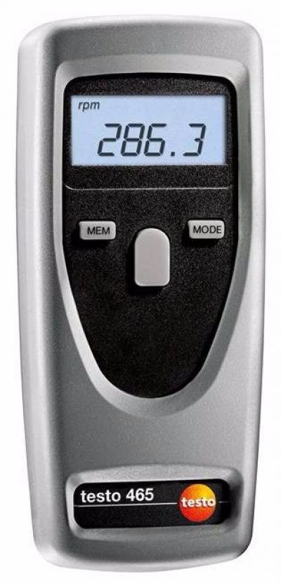 Testo 465 Tachometer - Non-contact rpm