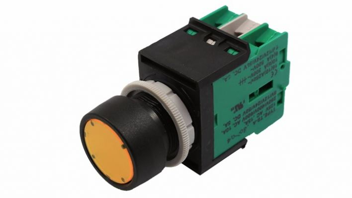 ECS-P2 Flat Type Maintained Pushbutton Switch
