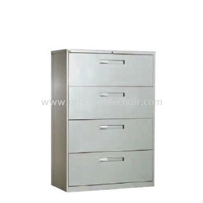 4 DRAWER LATERAL FILLING CABINET