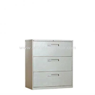 3 DRAWER LATERAL FILLING CABINET