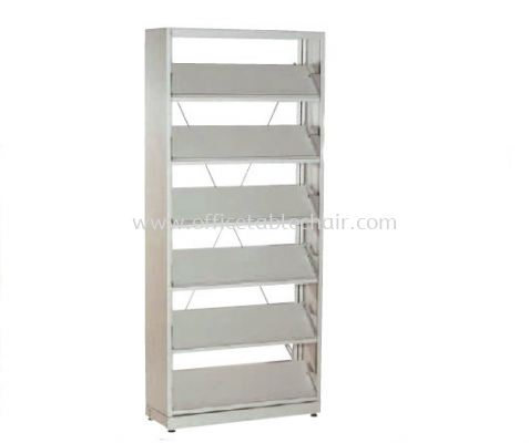 PERIODICAL SHELVING WITH 6 SHELVING