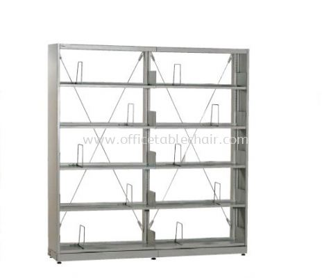 LIBRARY SHELVING DOUBLE SIDED 2
