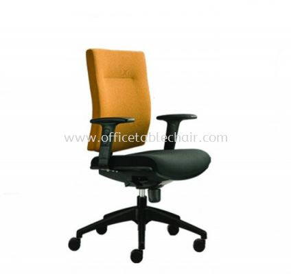 BRABUSS EXECUTIVE LOW BACK CHAIR C/W ROCKET NYLON BASE BR-3F