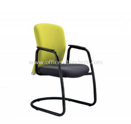 BRYON EXECUTIVE VISITOR CHAIR C/W EPOXY BLACK CANTILEVER BASE BY-4F