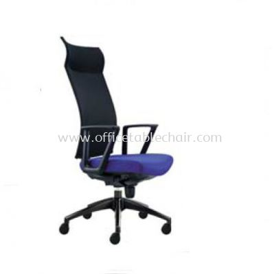 INCLUDE EXECUTIVE HIGH BACK MESH CHAIR WITH ROCKET NYLON BASE ID 390F