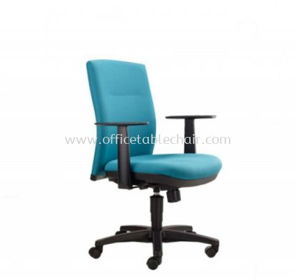 KARISMA EXECUTIVE LOW BACK CHAIR WITH POLYPROPYLENE BASE KM3