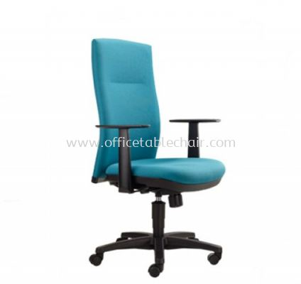 KARISMA EXECUTIVE MEDIUM BACK CHAIR WITH POLYPROPYLENE BASE KM2