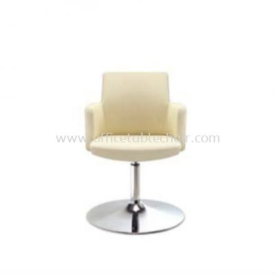 MORRIS EXECUTIVE LOW BACK CHAIR WITH TRUMPET CHROME BASE MR 514L