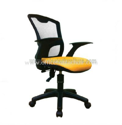 KASANO 4.4 LOW BACK MESH CHAIR WITH POLYPROPYLENE BASE ACL 599 (C)