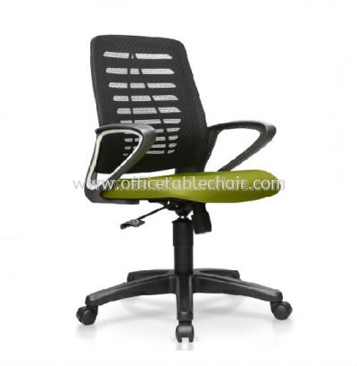 KASANO 5 LOW BACK MESH CHAIR C/W POLPYPROPYLENE BASE ACL 578