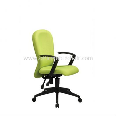 VOTEX STANDARD LOW BACK FABRIC CHAIR WITH ROCKET NYLON BASE VX3