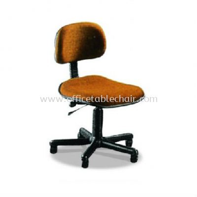 TY2 TYPIST CHAIR WITHOUT ARMREST AND POLYPROPYLENE BASE