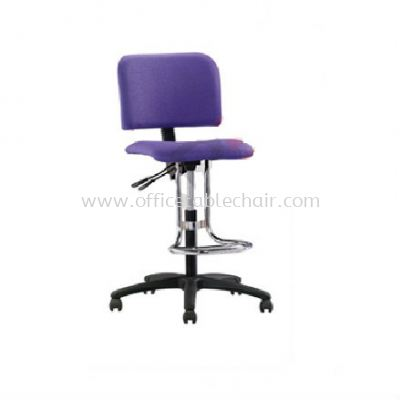 DC3 DRAFTING CHAIR C/W POLYPROPYLENE BASE