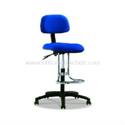 DC1 DRAFTING CHAIR C/W POLYPROPYLENE BASE