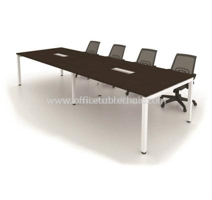 MUKI RECTANGULAR CONFERENCE OFFICE TABLE METAL N-LEG MUC3012