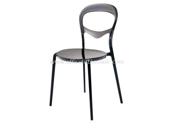 CAFETERIA PC CHAIR WITH ALUMINIUM LEG AS HH 603