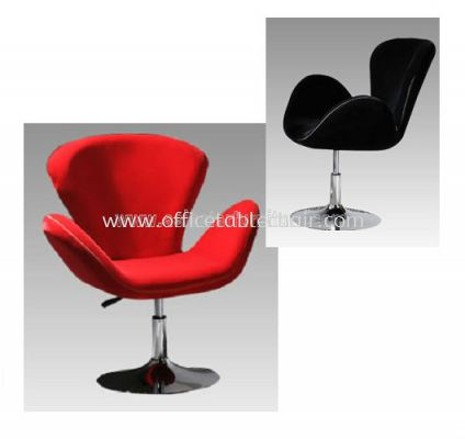 AS G103 MICROFIBRE CHAIR WITH CHROME BASE