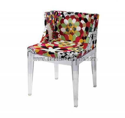 AS HH 493 FABRIC COVER CHAIR WITH PC FRAME