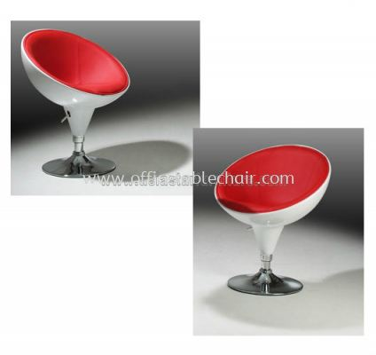 AS K-122 ABS SHELL, PU SEAT AND CHROME BASE