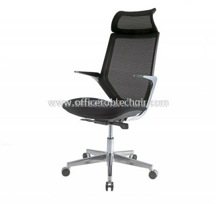 Z1 HIGH BACK ERGONOMIC MESH CHAIR WITH ALUMINIUM DIE-CAST BASE