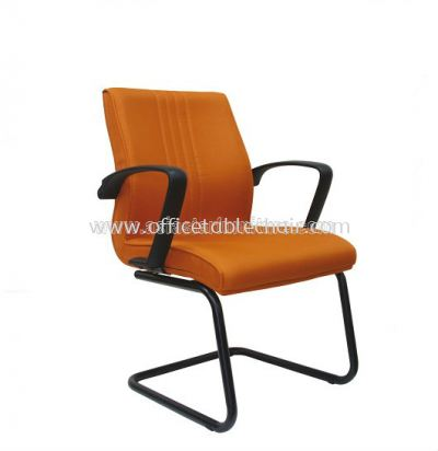 LINER STANDARD VISITOR CHAIR WITH EPOXY BLACK CANTILEVER BASE ASE 244